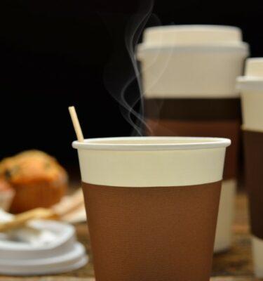 Desechable café
