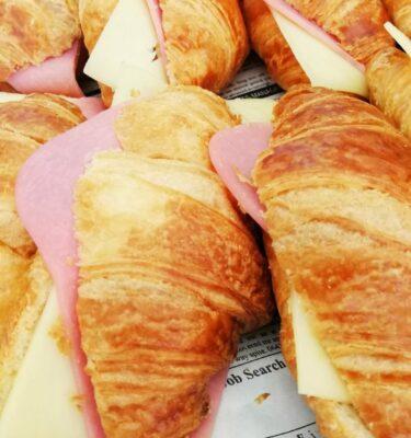 Mini croissants Rellenos