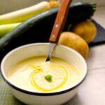 Comida a domicilio - Crema de calabacín blanco