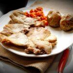 Comida a domicilio - Filetes de contramuslos de pollo al horno