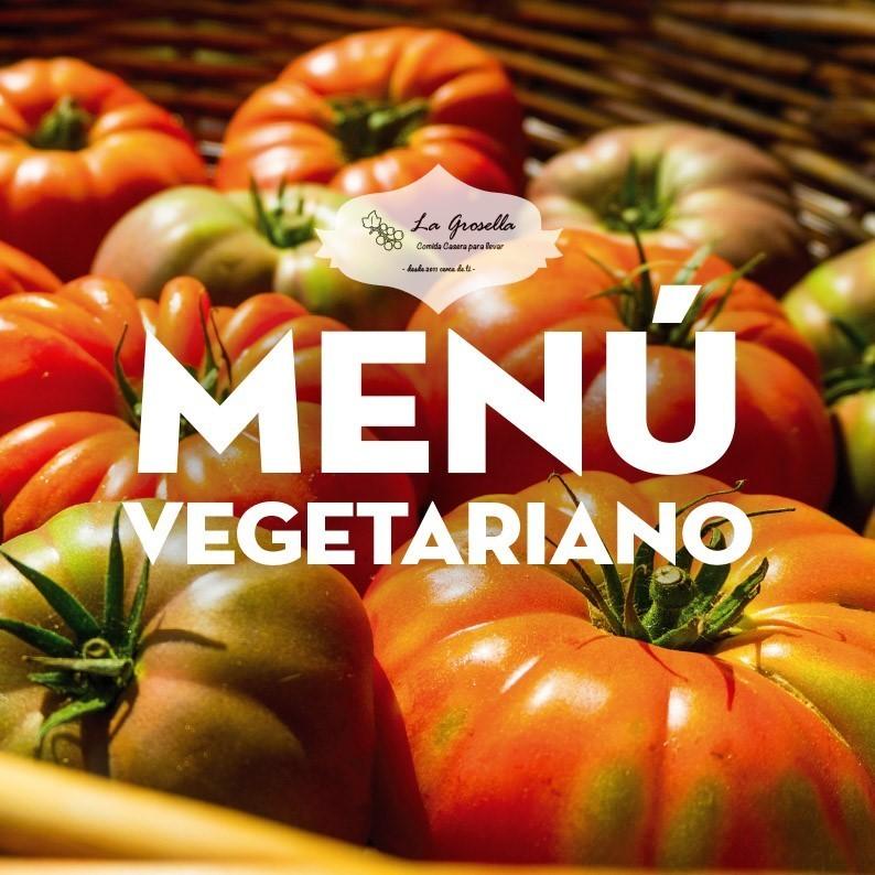 Menú Ovoláctovegetariano