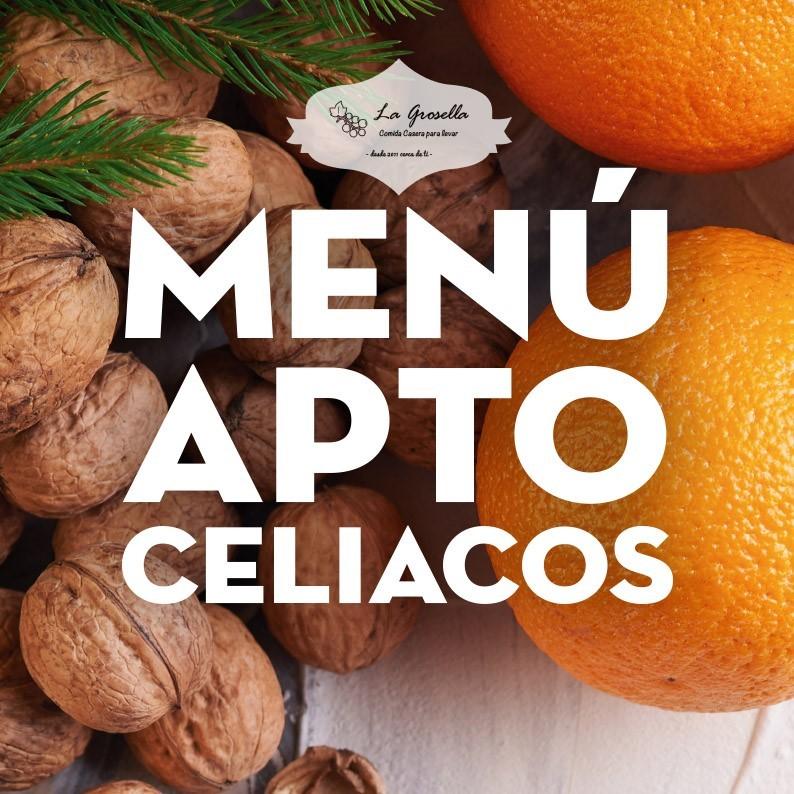 Menú Apto para Celiacos