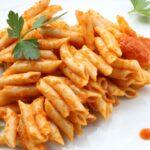 Comida a domicilio - Macarrones con tomate