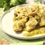 Comida a domicilio - Ragú de pollo al cilantro