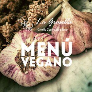 Menú Vegano