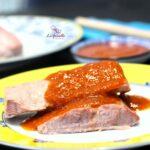 Comida a domicilio - Atún con tomate