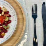 Comida a domicilio - Ensalada de alubias rojas con provola