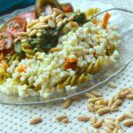 Comida a domicilio - Ensalada de pasta multivegetal al pesto