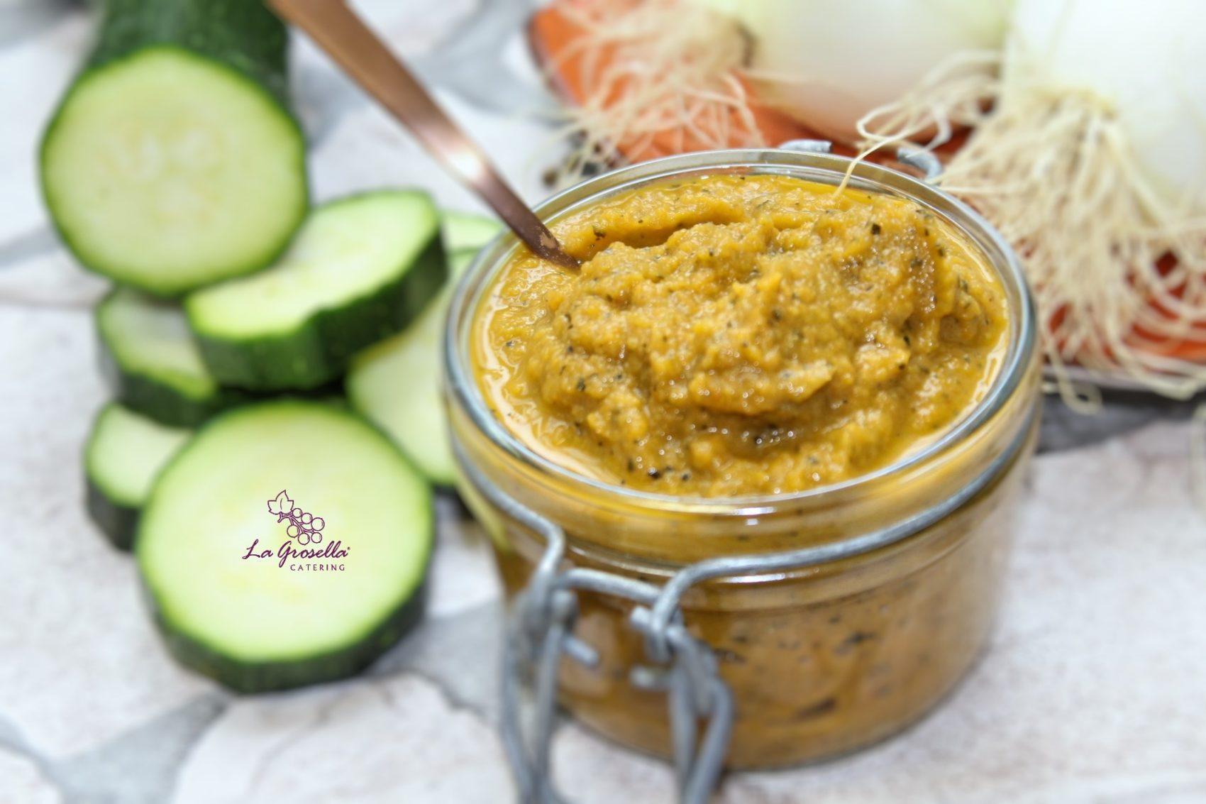 Hummus de calabacín