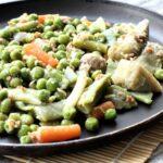 Comida a domicilio - Menestra de verduras con jamón