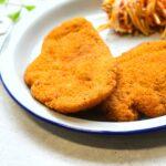 Comida a domicilio - Pechuga de pollo a la Villeroy