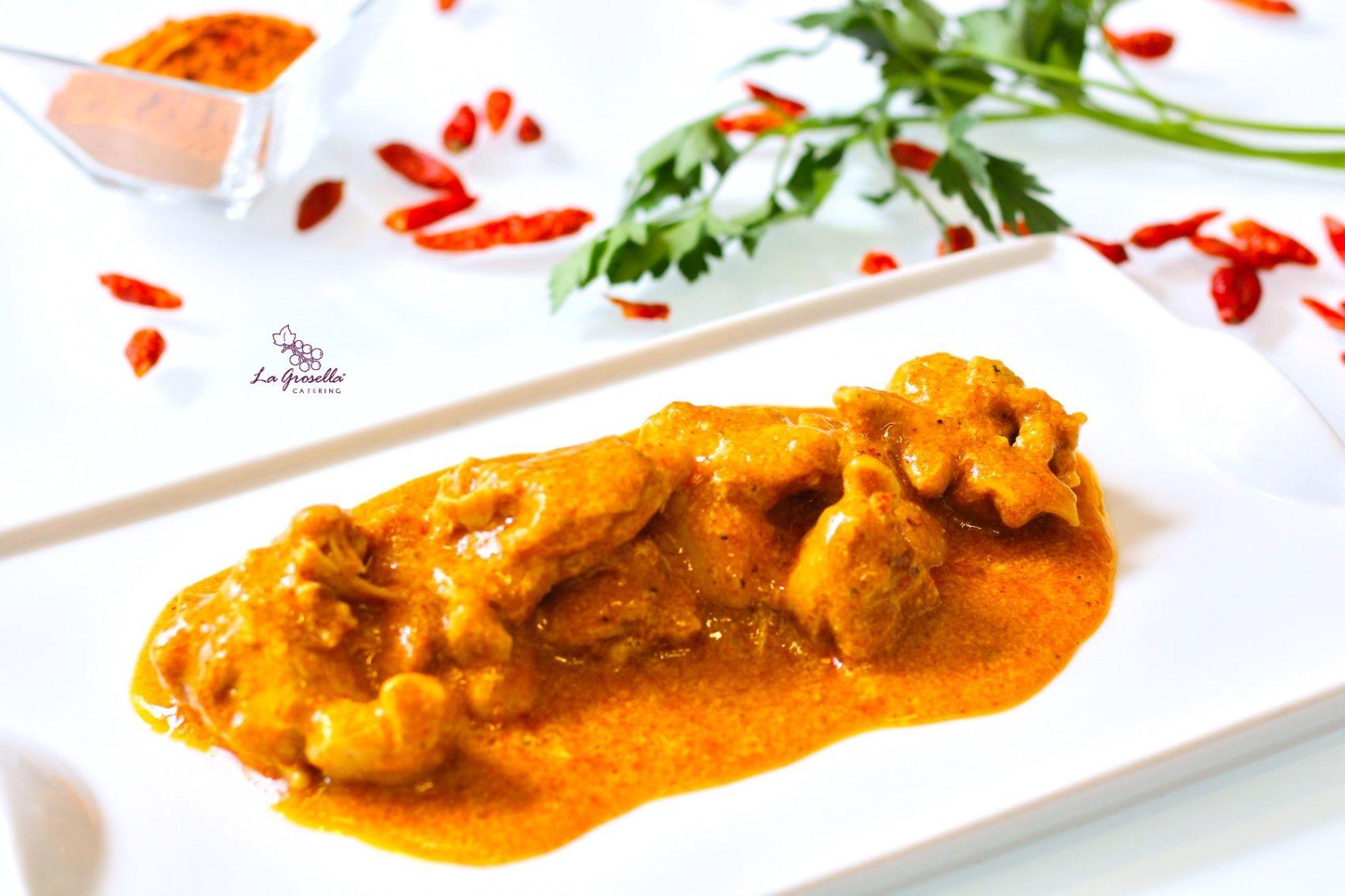 Ragú de pollo al estilo Tandoori Masala