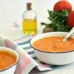 Comida a domicilio - Crema de tomate con zanahoria y jengibre