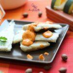 Comida a domicilio - Merluza con salsa de pimientos del piquillo