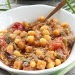 Comida a domicilio - Ragú de verduras con garbanzos