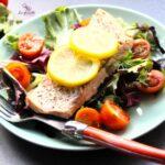 Comida a domicilio - Salmón al limón y hierbas provenzales