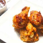 Comida a domicilio - Alitas de pollo asadas con especias