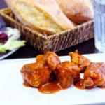 Comida a domicilio - Costillas con salsa barbacoa