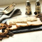 Comida a domicilio - Solomillo de cerdo con salsa cremosa de boletus
