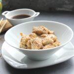Comida a domicilio - Ragú de pollo con soja y setas