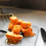 Comida a domicilio - Tacos de lomo con pimentón de La Vera