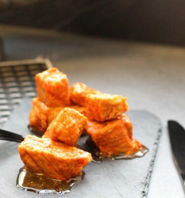Tacos de lomo con pimentón de La Vera
