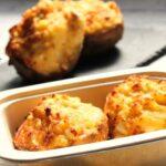 Comida a domicilio - Patatas rellenas de salmón