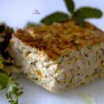 Comida a domicilio - Quiche de puerros y calabacín