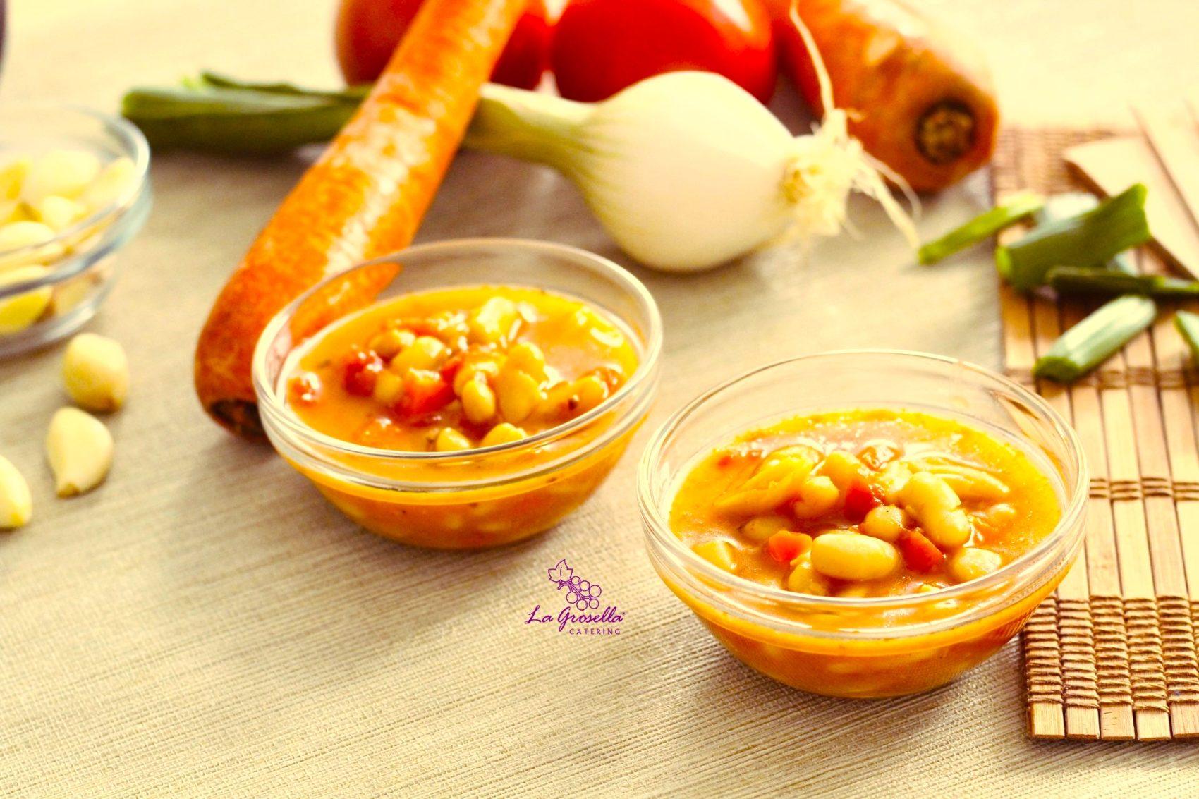 Fasolada - Sopa de alubias y verduras