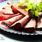 Comida a domicilio - Pastrami de ternera