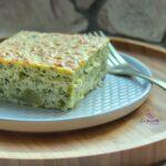 Comida a domicilio - Quiche de brócoli y queso de cabra