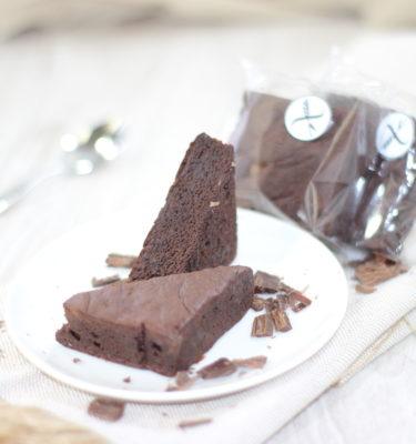 Pastelito brownie de chocolate APTO PARA CELÍACOS extra