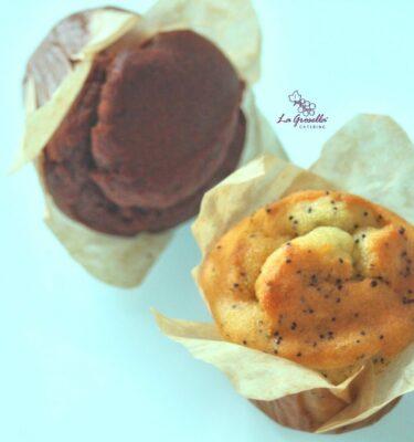 Muffin de chocolate sin gluten