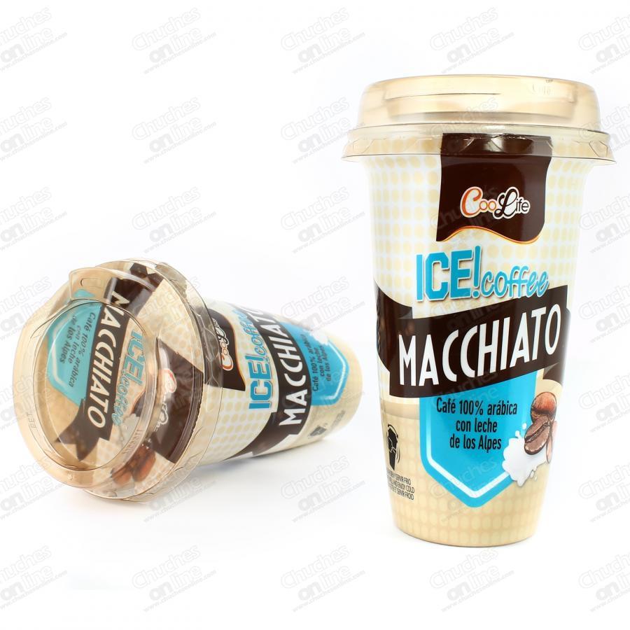 Ice! Coffee macchiato extra