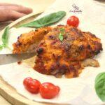 Comida a domicilio - Contramuslo de pollo a la parmesana