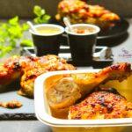 Comida a domicilio - Jamoncitos de pollo asado al chimichurri