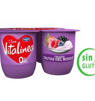 Yogur de frutos del bosque Vitalinea extra