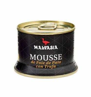 Mousse de foie de pato con trufa 130 Gr.