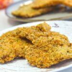 Comida a domicilio - Filetes de contramuslo de pollo empanados