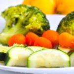 Comida a domicilio - Verduras al vapor