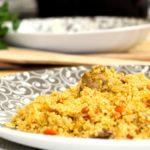 Comida a domicilio - Tajine de cuscús con pollo