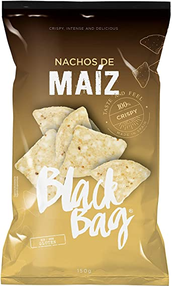 Bolsa de nachos de maíz 150 Gr. extra