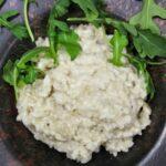 Comida a domicilio - Risotto al gorgonzola e hinojo