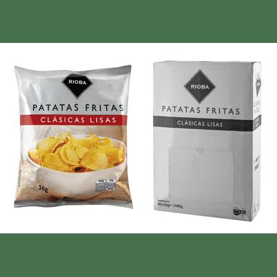 Bolsa de patatas fritas clásicas lisas 36 Gr.