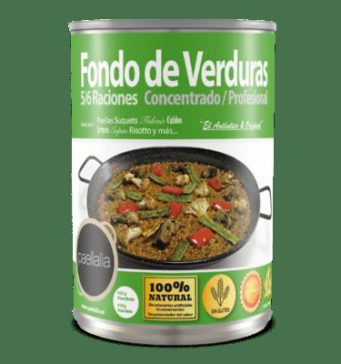 Fondo de verduras concentrado 425 gr.