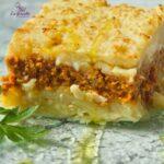 Comida a domicilio - Pastel de patata al estilo cajún